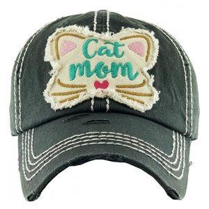 🌟COMING SOON🌟Cat Mom baseball cap